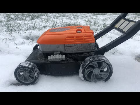 toy-lawn-mower-snow-plow!