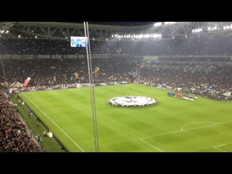 Juventus / OL (Ligue des Champions 16-17) – Entrée des joueurs