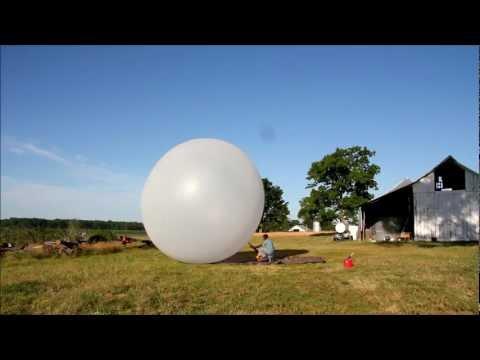 Huge Weather Balloon Explosion