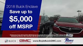 Boyle Buick GMC- Test Drive the Enclave Today!
