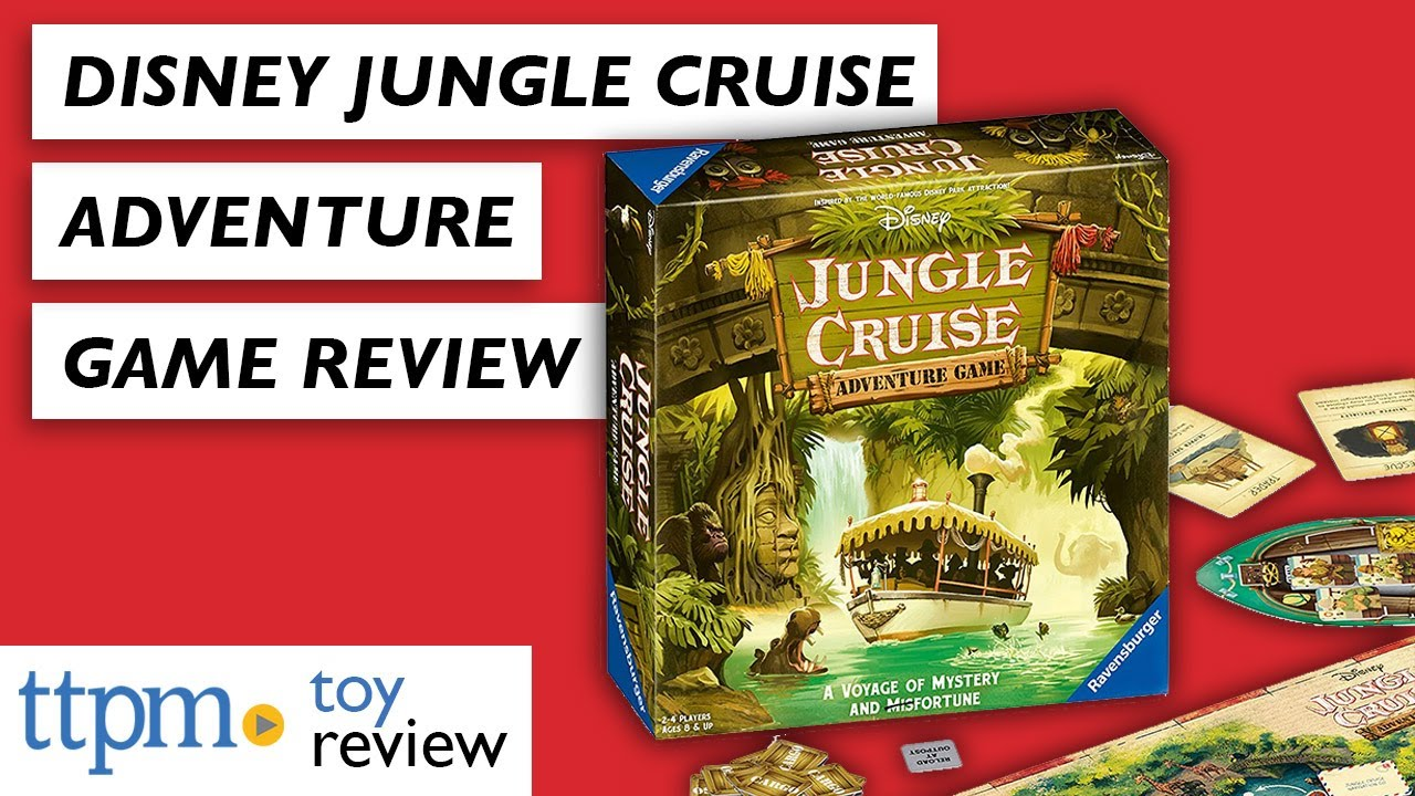 Disney Game Play Ravensburger Jungle Cruise Adventure For Ages 8 Up Exclusive To