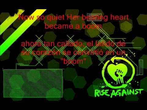 Rise Against  this is letting go subtitulos en español y en ingles