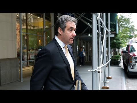 Trump's longtime lawyer Michael Cohen pleads guilty to eight counts