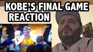 Kobe's Last Game & Speech Reaction!