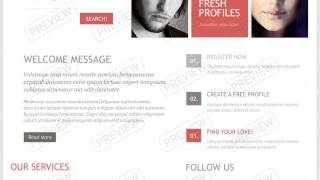 Dating Website Templates - Online Dating Themes | MotoCMS