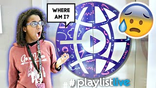 WE GOT LOST AT PLAYLIST LIVE?!