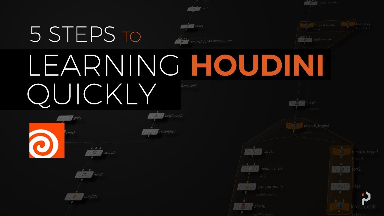 Five Steps to Learning Houdini Quickly