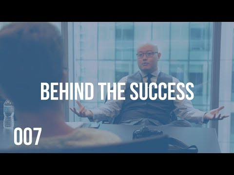 MONEY IN THE BANK IS NOT MY MEASURE OF SUCCESS I BEHIND THE SUCCESS 007 WITH BENSON SUNG