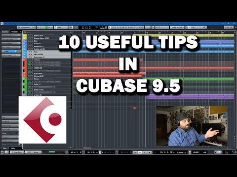 Cubase 9.5 Tutorial - 10 Useful Shortcuts