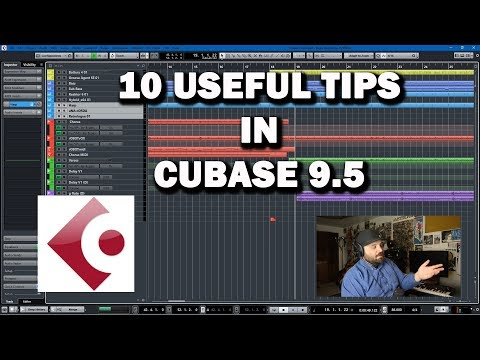 Cubase 9.5 Tutorial – 10 Useful Shortcuts