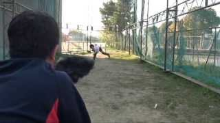 Amazing 8 year old pitcher 50mph!! (2013 Japan)