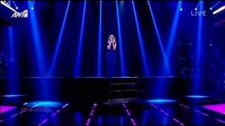 Μαρία Έλενα Κυριάκου - The Voice of Greece - Because of You - Τελικός - Νικήτρια