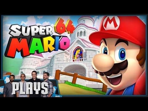 Let's Play Super Mario 64 - Kinda Funny Plays