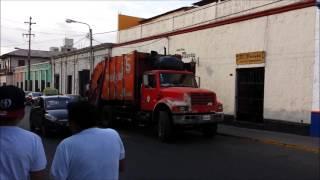 Musical Garbage Truck - Arequipa, Peru