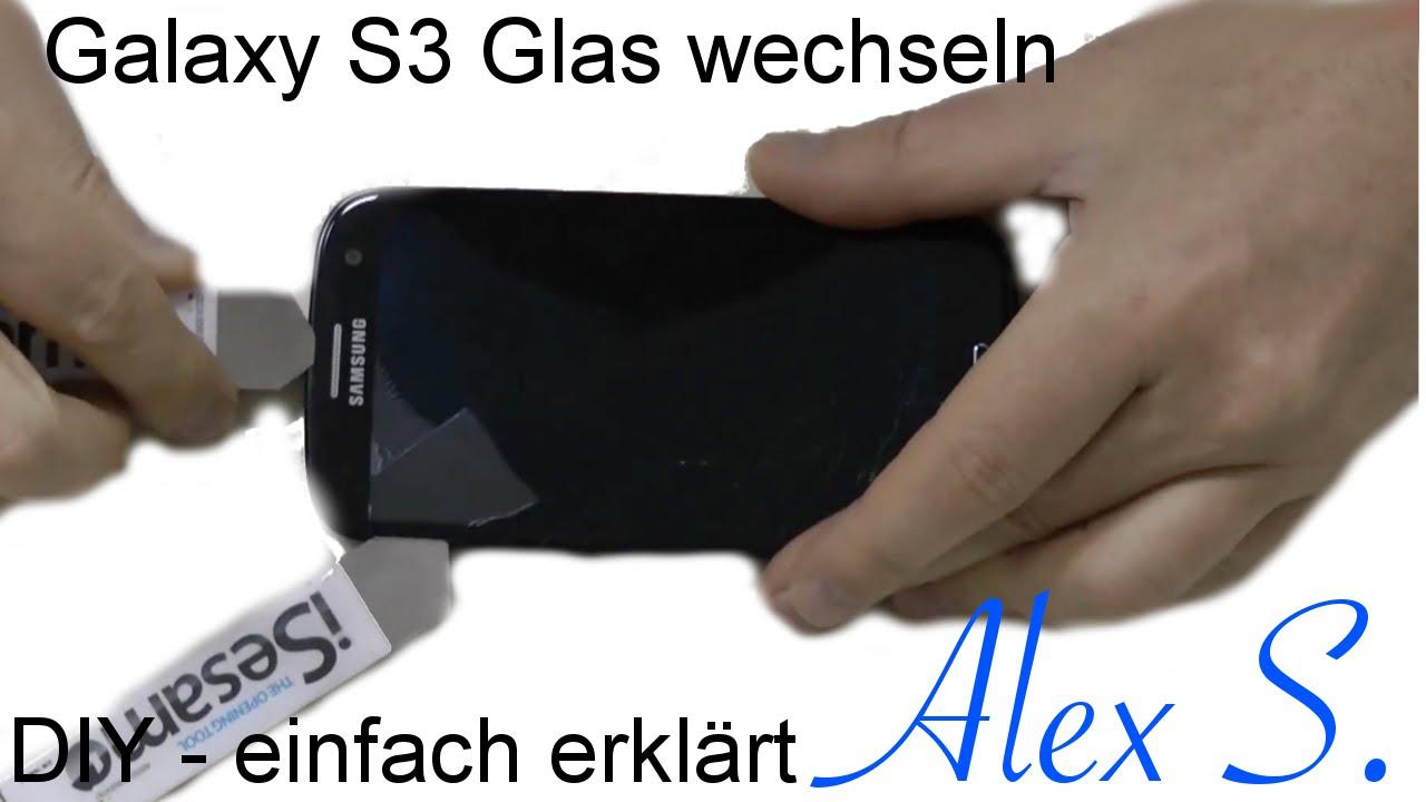 Galaxy Touch Tauschen Reparieren Kleber Uv Mit S3 Loca Deutsch Glas Samsung QrxWECeBod