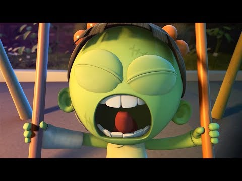 Funny Animated Cartoon | Spookiz | Zizi on a Swing | 스푸키즈 | Cartoon For Children