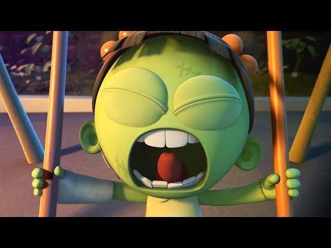 Funny Animated Cartoon | Spookiz | Zizi on a Swing | 스푸키즈 | Videos For Kids