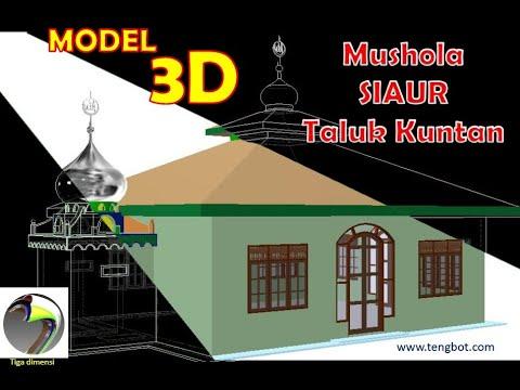 3d mushola