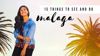 15 Interesting Things to See and Do in MALAGA, Spain!