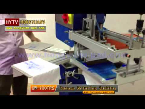 Rapid T-shirt Lable Screen Printing Machine