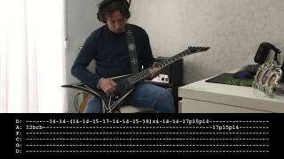 Witchery - Witchkrieg cover with tablature