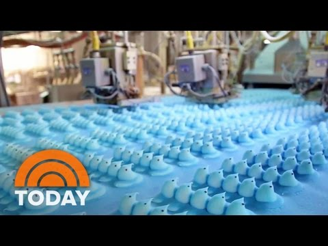How Peeps Are Made And Where They Come From Before Landing In Easter Baskets | TODAY