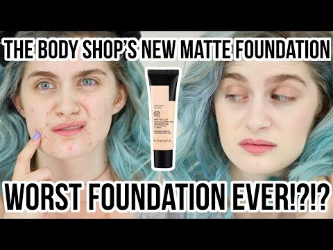 THE BODY SHOP Matte Clay Skin Clarifying Foundation First Impressions Cruelty Free | Raquel Mendes