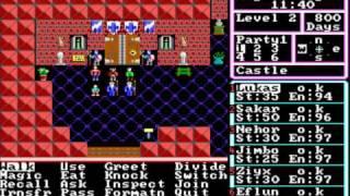 The Magic Candle: Volume I (MS-DOS) Intro und Gameplay