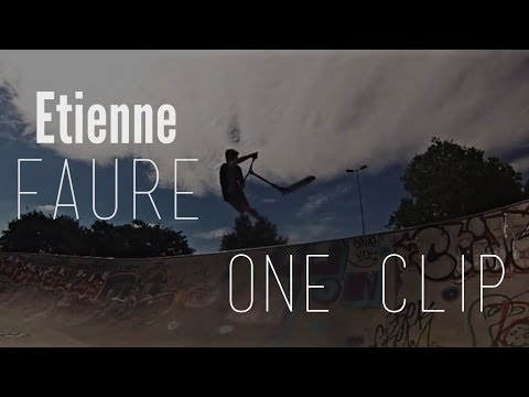 Etienne Faure ✘ One s