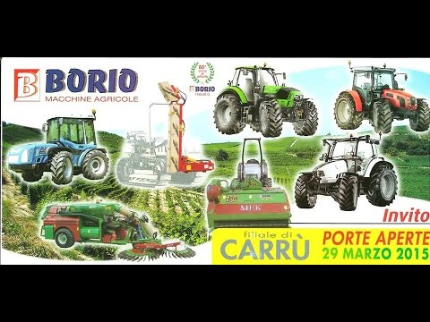 borio macchine agricole youtube