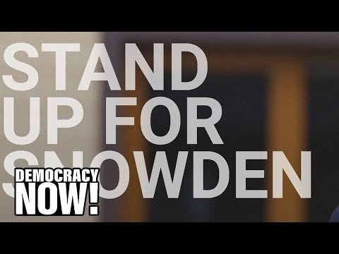 """Pardon Snowden"" Campaign Launches, Led by ACLU, Amnesty & Human Rights Watch"