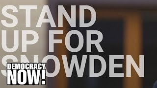 """""""Pardon Snowden"""" Campaign Launches, Led by ACLU, Amnesty & Human Rights Watch"""