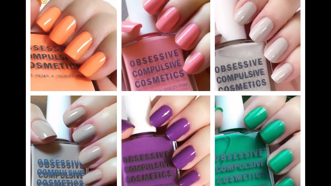 The Cosplay Nail Polish Collection - Obsessive Compulsive Cosmetics ...
