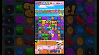 Candy Crush Saga level 1366. No booster.