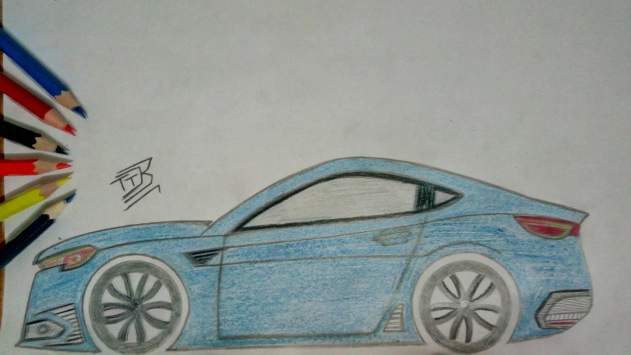çok Kolay Spor Araba çizimi 004 Youtube