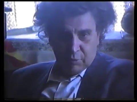 Ο Μίκης Θεοδωράκης στην Κάρπαθο 12 Μάιου 1991