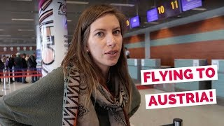 Austrian Airlines flight from Ukraine to Austria travel vlog (Lviv - Vienna - Innsbruck - Kitzbühel) thumbnail