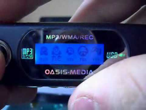 hacked china S1 mp3 player