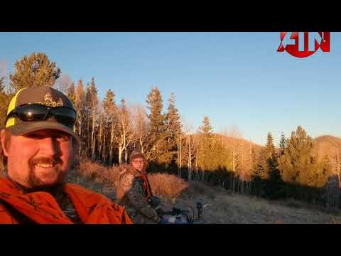 Elk hunting adventures, ATN XSIGHT II 3-14x, Mule Deer, Sunsets, and Ice.