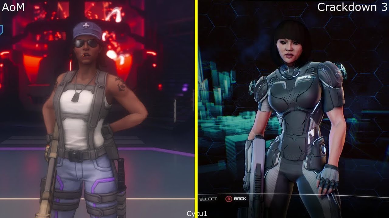 Exclusive Car Wallpapers Agents Of Mayhem Vs Crackdown 3 Xbox One Gameplay