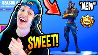 NINJA REACTS TO *NEW* SEASON 6 BATTLE PASS! *LEGENDARY* Fortnite FUNNY & EPIC Moments