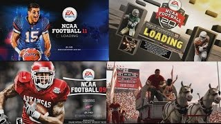 NCAA Football pre game Presentation through the years NCAA 98 - NCAA FOOTBALL 14
