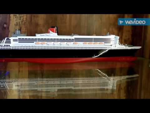 1:1400 scale Siku cruise ship models collection. Queen Mary 2, AIDA, Mein Schiff 3
