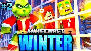 GRINCH hat UNS EINGESPERRT?! - Minecraft WINTER #02 [Deutsch/HD]
