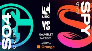 SCHALKE04 VS SPLYCE | GAUNTLET [2019] | Game 1 | League of Legends