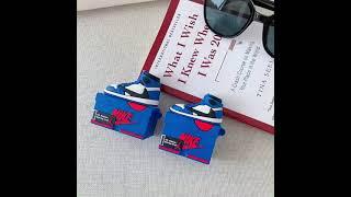 나이키 에어조던1 블루 레드라인 박스 에어팟 케이스