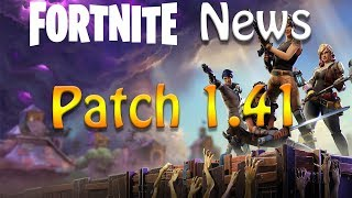 FNN - FortNite News - Patch 1.41 [PT/BR] #2