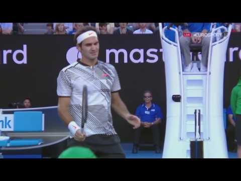 Roger Federer vs  Stan Wawrinka AO SF 2017