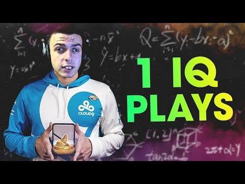 WHEN CS:GO PROS MAKE POOR DECISIONS! (1 IQ PLAYS)