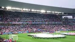 Euro 2016 - England vs Slovakia - National Anthems (4K Ultra HD)